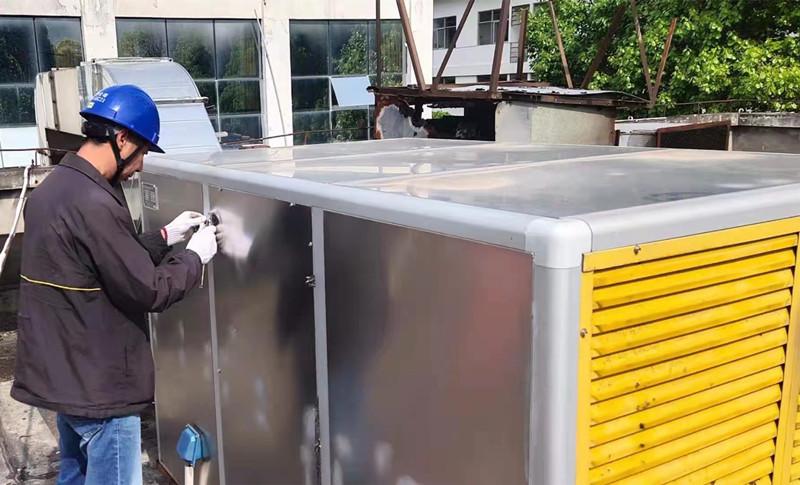 溪洛渡電站靜電式油煙凈化設備