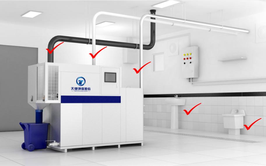 功效性T8系列隔油提升設備安裝方式
