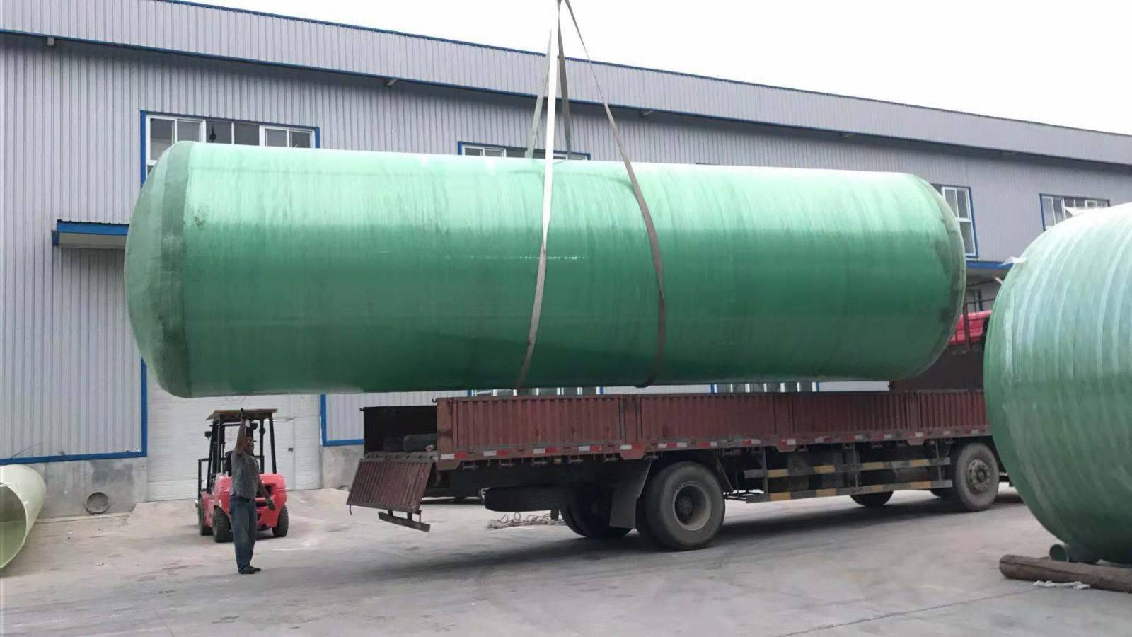 玻璃钢地理式污水中水处理设备