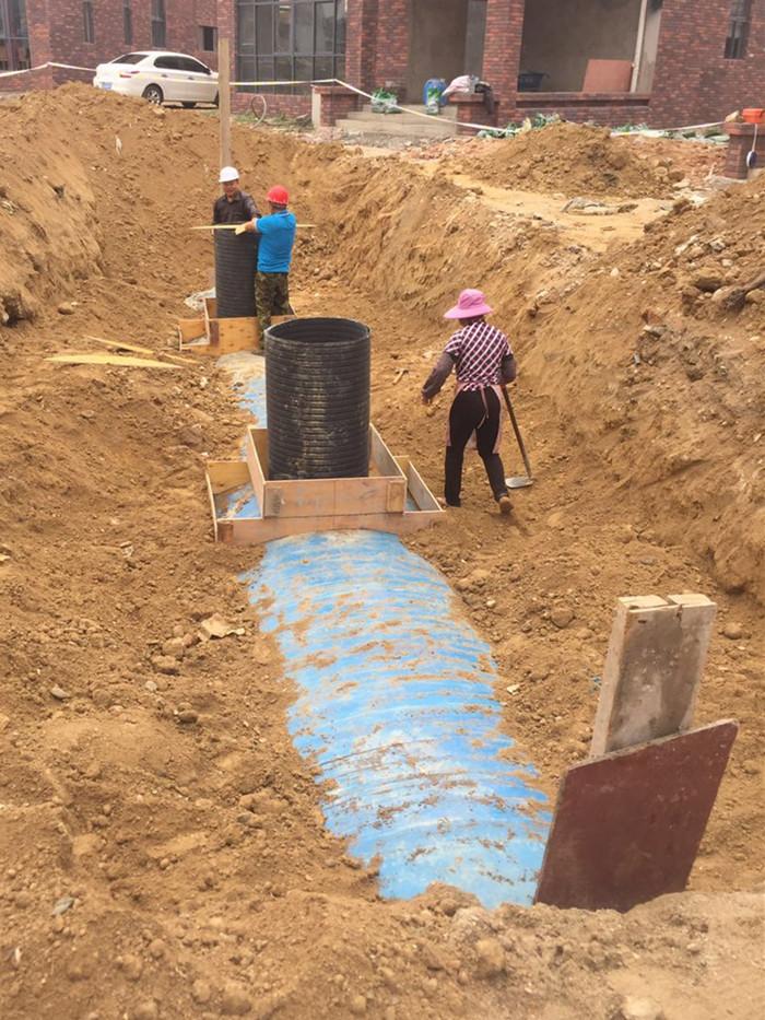 一體化化糞池砌連接井